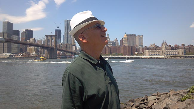 Brooklyn Bridge and Bernie