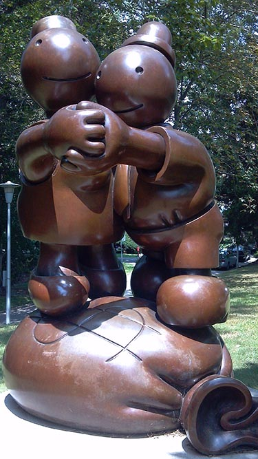 Tom Otterness, Free Money
