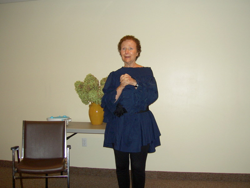 Photo of me giving a Psychic Workshop at the Life Center in Huntington, L.I. on September 15th.