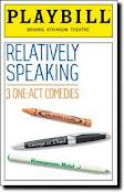 RELATIVELY SPEAKING: 3 One-Act Comedies at the Brooks Atkinson Theater