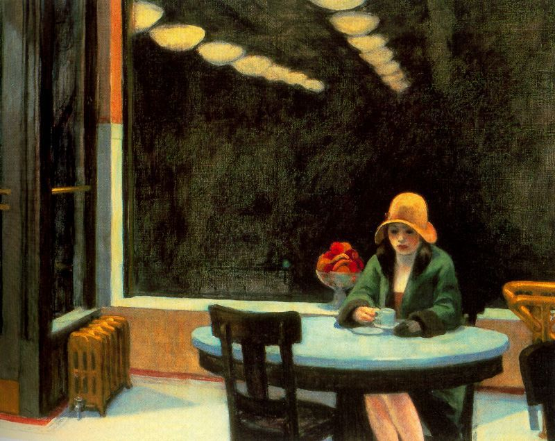 SLIPSTREAM published my poem EVERY WINDOW LEADS TO EDWARD HOPPER