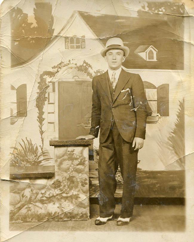My father, HERMAN SHAPIRO, photo taken at least a century ago